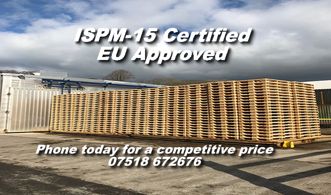 ISPM 15 Certified Pallets